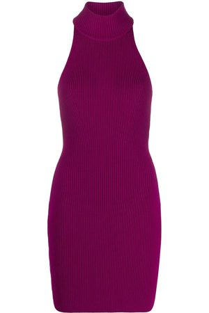 Dsquared2 Knitted halterneck mini dress