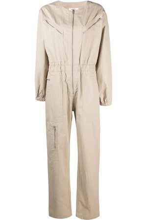Isabel Marant Zip-front cotton jumpsuit