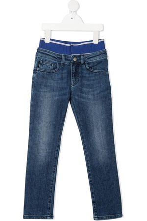 Emporio Armani Boys Stretch Trousers - Stretch-waist denim jeans