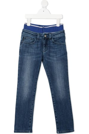 Emporio Armani Stretch-waist denim jeans