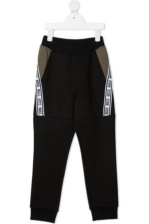 HUGO BOSS Boys Trousers - Logo tape track pants