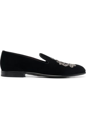 Dolce & Gabbana Men Loafers - Leonardo embroidered slippers