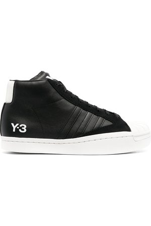 Y-3 Yohji Pro high-top leather sneakers