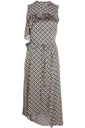 Marine Serre Women Midi Dresses - Geometric midi dress