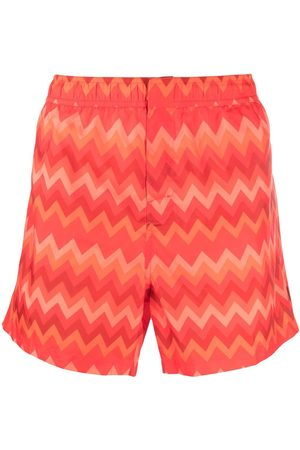 Missoni Zigzag-print swimming shorts