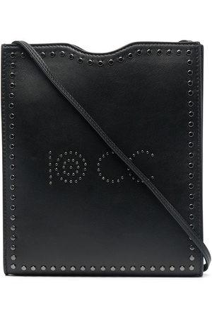 10 CORSO COMO Women Shoulder Bags - Logo-studded leather shoulder bag