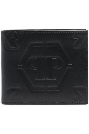 Philipp Plein Men Wallets - Embossed logo wallet