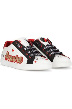 Dolce & Gabbana Logo-print lace-up sneakers