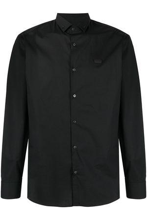 Philipp Plein Men Long Sleeve - Platinum cut Iconic Plein shirt