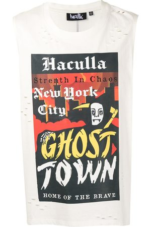 HACULLA Men T-shirts - Ghost Town sleeveless T-shirt
