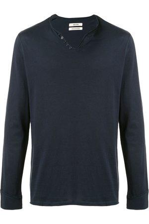 Zadig & Voltaire Men Long Sleeve - V-neck long-sleeve T-shirt
