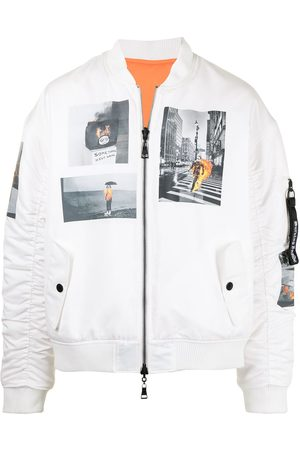 HACULLA New York reversible bomber jacket