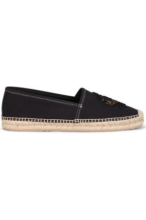 Dolce & Gabbana Men Casual Shoes - Embroidered logo espadrilles