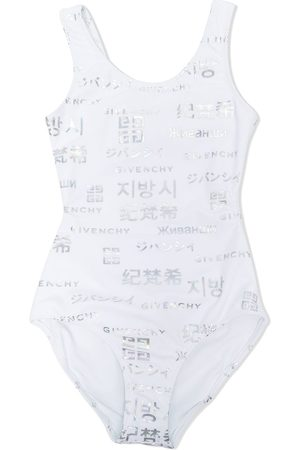 Givenchy Girls Bodysuits & All-In-Ones - Logo-print one-piece