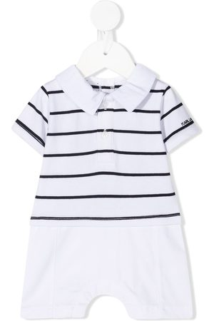 Karl Lagerfeld Rompers - Striped polo romper