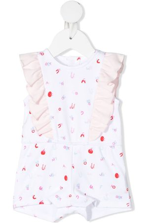 The Marc Jacobs Rainwear - Letter-print sleeveless shorties