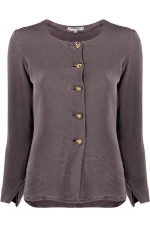 Yves Saint Laurent 1970s button-up blouse