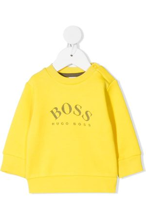 HUGO BOSS Sweatshirts - Logo-print long-sleeve sweatshirt