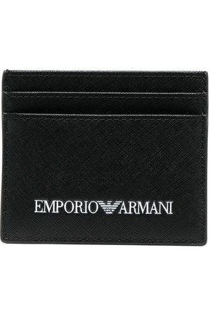 Emporio Armani Men Wallets - Logo-print cardholder
