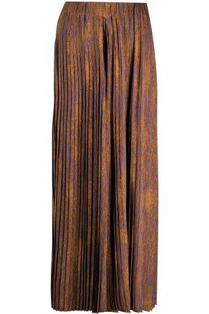 HENRIK VIBSKOV Women Wide Leg Trousers - Jelly plisse palazzo trousers