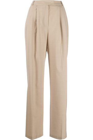 12 STOREEZ High-waisted wide-leg trousers