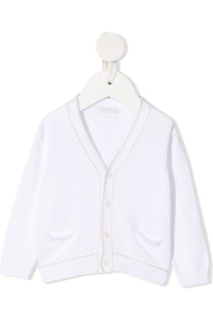 Il gufo Button-up long-sleeved cardigan