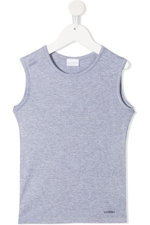 La Perla Boys Tank Tops - Ribbed sleeveless top