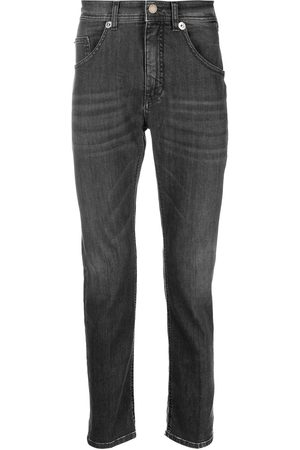 Neil Barrett Faded-effect slim-cut jeans