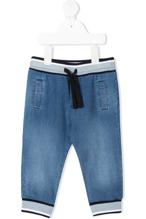 Dolce & Gabbana Drawstring denim trousers