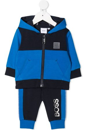 HUGO BOSS Colour block tracksuit set