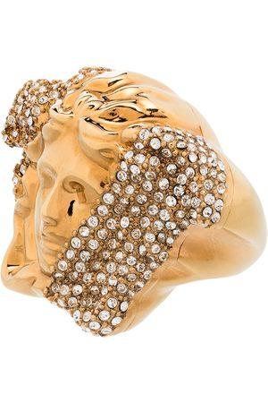 VERSACE Tone palazzo dia crystal ring