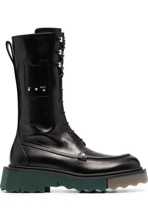 OFF-WHITE SPONGE POCKET COMBAT BOOT NO COLOR