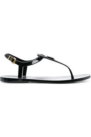 VALENTINO GARAVANI VLOGO thong strap sandals