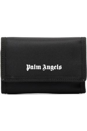 Palm Angels Men Wallets - Logo print folded wallet