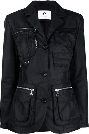 Marine Serre Multi-pocket jacket
