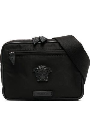 VERSACE Men Belts - Medusa plaque belt bag
