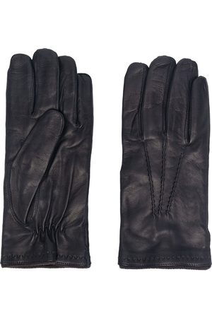 Lady Anne Oslo ruched leather gloves