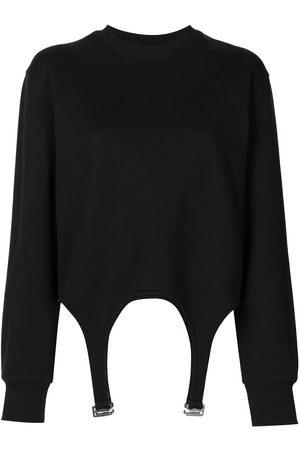 DION LEE Garter detail sweatshirt