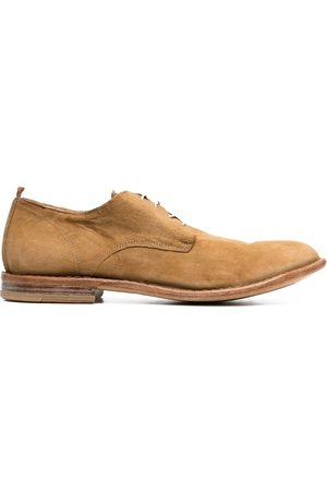 Moma Men Footwear - Lace-up suede Derby shoes