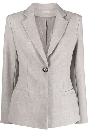 12 STOREEZ Dart-detail singe-breasted jacket