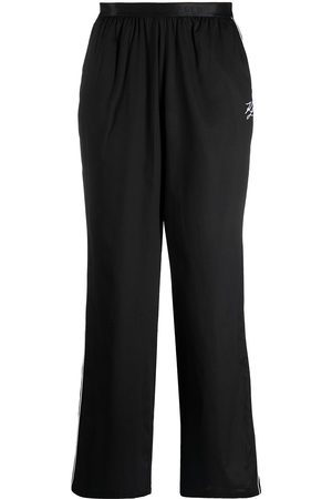 Karl Lagerfeld Logo waistband pajama trousers