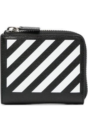 OFF-WHITE Diag-print wallet