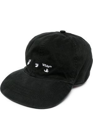 OFF-WHITE OW LOGO BASEBALL CAP WHITE