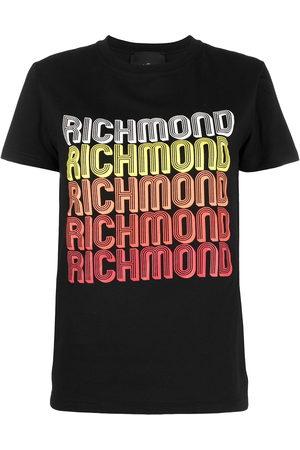 John Richmond Women Short Sleeve - Logo-print T-shirt