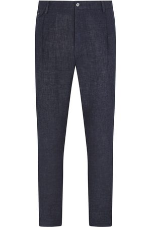 Dolce & Gabbana Dart-detailing mid-rise tailored trousers