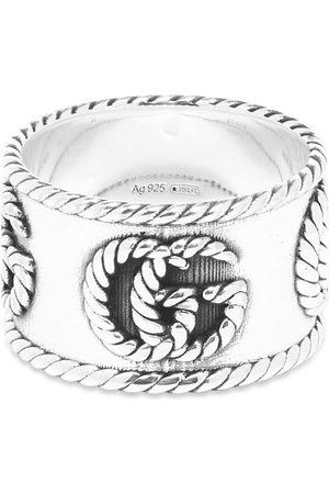 Gucci Gucci Chevron Marmont 14mm Ring