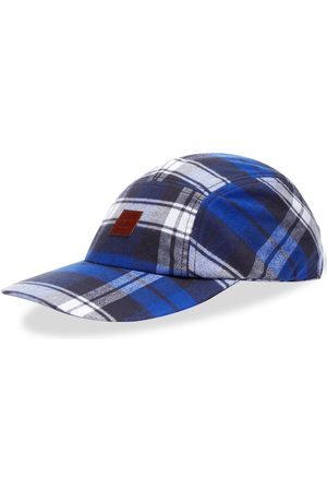 Acne Studios Crunn Check Face Cap