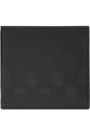 Alexander McQueen Men Wallets - Printed Skull Billfold Wallet