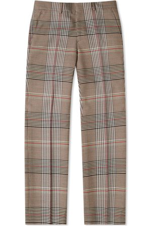 Burberry Slim Dry Wool Check Trouser