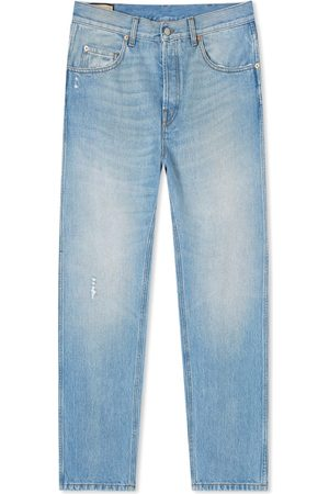 Gucci Men Tapered - Light Wash Tapered Jean
